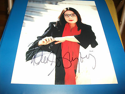 NANA MOUSKOURI SIGNED 8 x 10 MATTE PHOTO EXACT PROOF