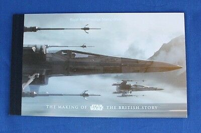 """2015 Royal Mail Prestige Booklet DY15 """"The making of Star Wars""""   (X2/38)"""