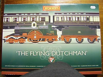Hornby 'The Flying Dutchman' train set. HO scale. Limited Edition
