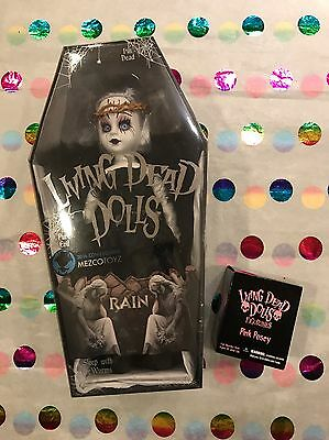 Living Dead Dolls Nycc Exclusive Midnight Rain Sealed With Pink Posey Figurine