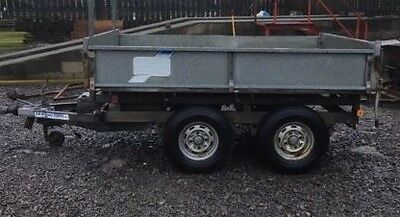 Ifor Williams Builders Tipping Trailer