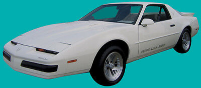 87-90 Firebird Formula 350 Decal Kit Silver Metallic