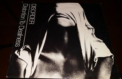 """Disorder - Distortion To Deafness (7"""")"""