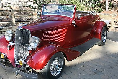 1933 Ford Other cabriolet 1933 Ford cabriolet all steele street rod