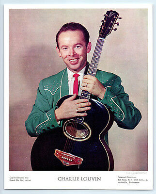 1950's Vintage CHARLIE LOUVIN BROTHERS Photo COUNTRY MUSIC Grand Ole Opry