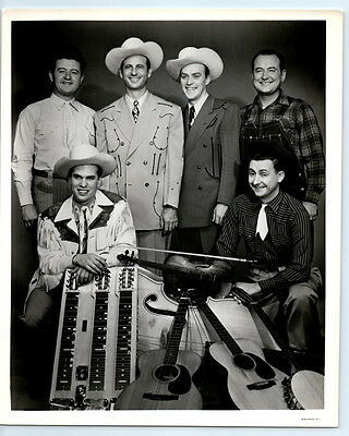 1950's Vintage COWBOY COPAS & BAND Publicity Photo COUNTRY MUSIC Grand Ole Opry