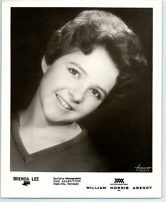 BRENDA LEE Vintage DECCA RECORDS Publicity Photo COUNTRY MUSIC Grand Ole Opry