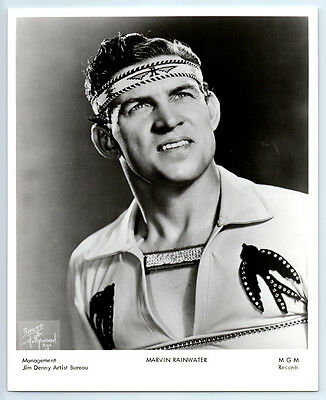 1950s MARVIN RAINWATER Vintage BRUNO OF HOLLYWOOD Photo COUNTRY ROCKABILLY MUSIC