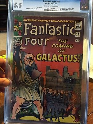 Fantastic Four #48 CGC 5.5 (1st Appearance of Silver Surfer)