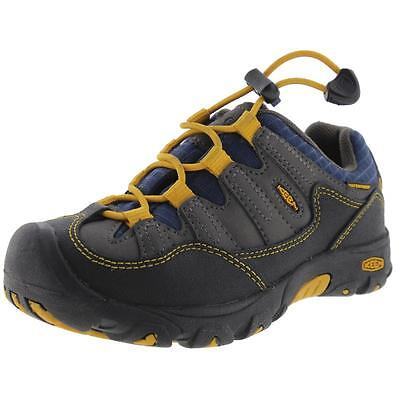 Keen 3856 Boys Gray Little Kid Hiking, Trail Shoes Sneakers 12 Medium (D) BHFO