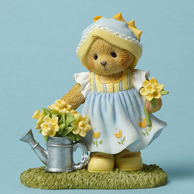 Cherished Teddies #4044693 Johanna Our Friendship Is As Sunny As Daffodils NEW