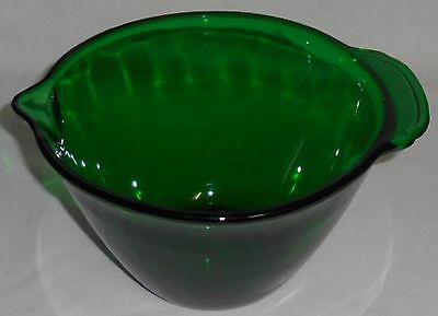 Anchor Hocking FOREST GREEN Batter Bowl