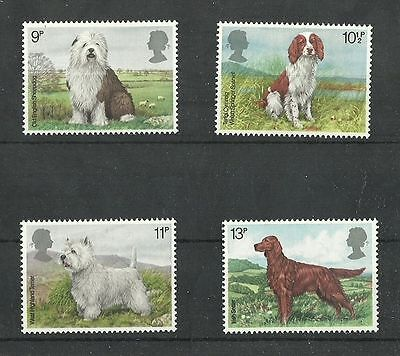 Great Britain 1979 Dogs  MNH