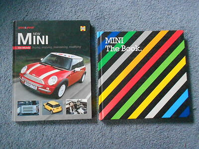 HAYNES YOU AND YOUR MINI & MINI THE BOOK LOT of TWO CAR REFERENCE INFO HC BMW