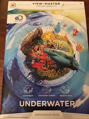 View-Master Virtual Reality Experience Pack: Discovery Underwater