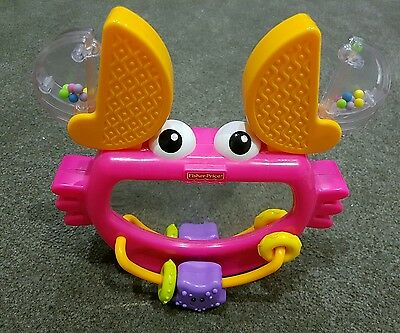 Fisher Price Growing Baby Clack & Play Crab