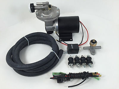 Electric Vacuum Pump Brake Booster Hot Rod Street Rod Chevy GM Ford Mopar 12V