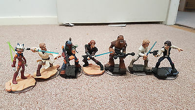 Disney Infinity 3.0 7 Star Wars Figures