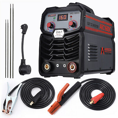 140 Amp Digital Display LCD Stick/ARC Welder IGBT DC Inverter Welding New