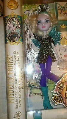Ever After High Faybelle Thorn Doll - Daughter of the Dark Fairy BNIB