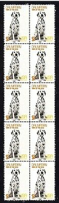 Dalmatian Year Of The Dog Strip Of 10 Mint Stamps 3