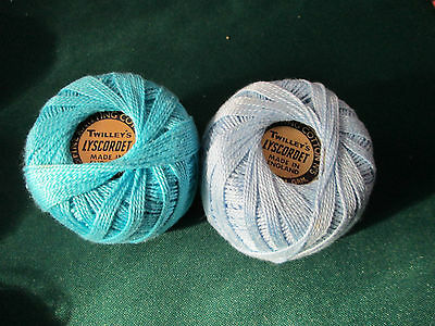 TWILLEYS COTTON LYSCORDET-AS NEW-MADE in ENGLAND TOP QUALITY.1 oz REELS x 31