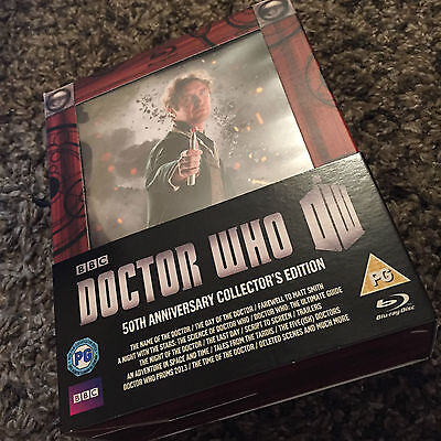 Doctor Who 50th Anniversary Collector's Edition Blu Ray set. OUT OF PRINT UK ver