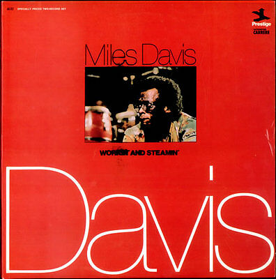 Miles Davis Workin' And Steamin' 2-LP vinyl record (Double Album) French