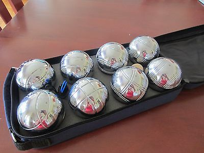 Deluxe Boules Alloy 8 Ball Set