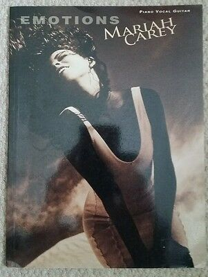 Mariah Carey Emotions music and songbook for piano vocal guitar