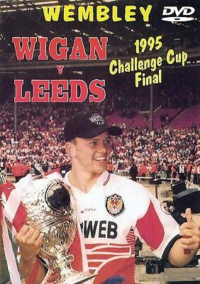 Wigan v Leeds 1995 Challenge Cup Final Rugby League DVD