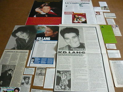 Kd Lang - Magazine Cuttings Collection
