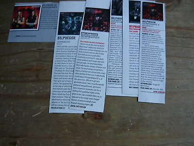 Belphegor - Magazine Cuttings Collection (Ref T6)