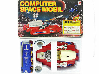 Bandai 2164 Computer Space Mobil Battery Toy Japan MINT  OVP 1601-14-08