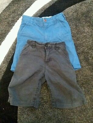2 pairs of boys shorts from NEXT
