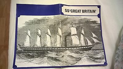 "VINTAGE ""SS GREAT BRITAIN"" + History + Return Salvage Operation books"