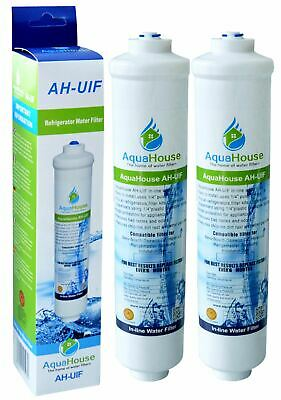 2x AquaHouse Fridge Water Filters fits Samsung LG DAEWOO American Fridges