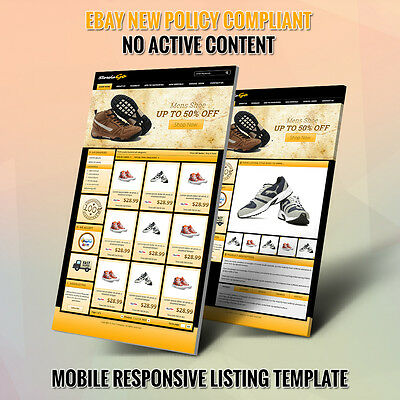 Top eBay Shop & Listing Auction HTML Templates- Free Setup Within 24 Hours