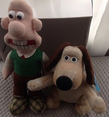 Wallace And Gromit Vintage 1989 Soft Toys
