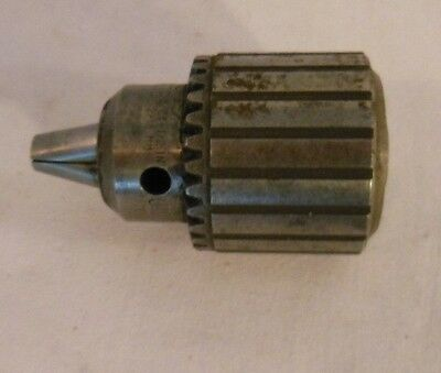 """Jacobs No. 33B Drill Chuck Arbor, 5/64-1/2"""" Capacity without key"""