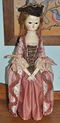 OOAK Queen Anne Style Doll by Daria Vistavna