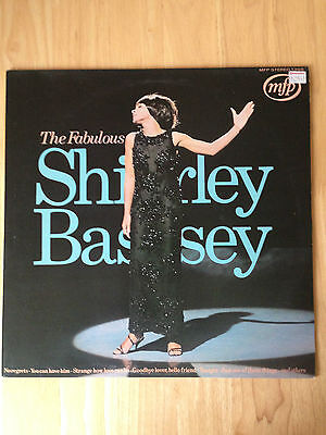 "THE FABULOUS SHIRLEY BASSEY 12""LP Vinyl Record Cd"
