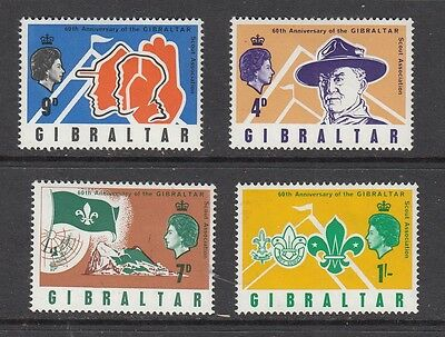 GIBRALTAR SCOUT STAMPS UNUSED .Rfno.322.