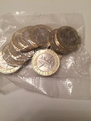 10 X TWO POUND COIN £2 - William Shakespeare Histories £20