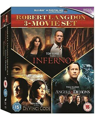 The Da Vinci Code/Angels and Demons/Inferno (Box Set with UV Copy) [Blu-ray]