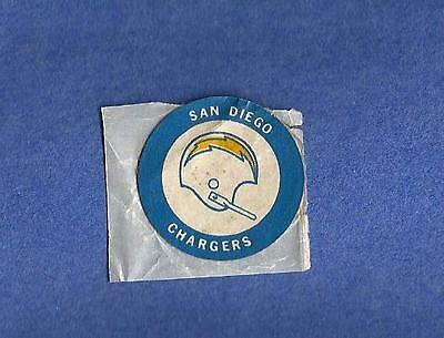 1971 San Diego CHARGERS NFL Football CHIQUITA Banana Helmet vintage sticker 1970