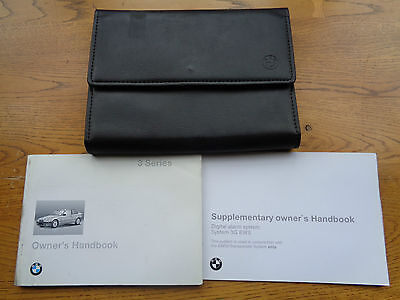 BMW 3 Series  Compact Owners Handbook/Manual and Wallet 94-97