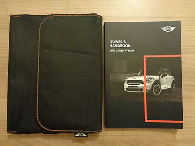 Mini Countryman Owners Handbook/Manual and Wallet 10-15