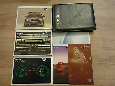 Skoda Fabia Owners Handbook Manual and Pack 05-07