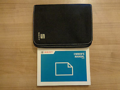 Seat Leon Owners Handbook/Manual and Wallet 13-16